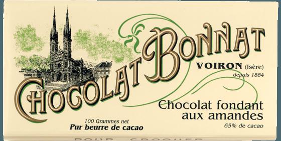 Tablette Chocolat fondant aux amandes