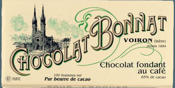 Tablette Chocolat fondant au café