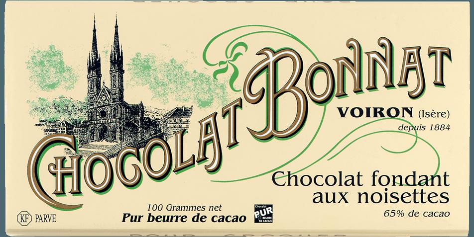 Tablette Chocolat fondant aux noisettes