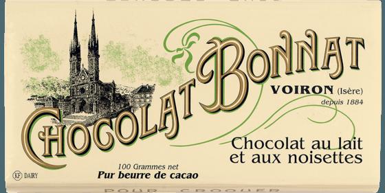 Tablette Chocolat au lait et aux noisettes