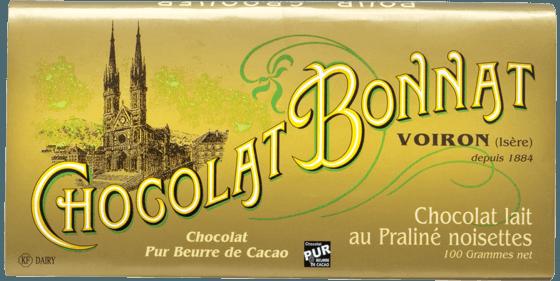 Tablette Chocolat au lait au Praliné noisettes